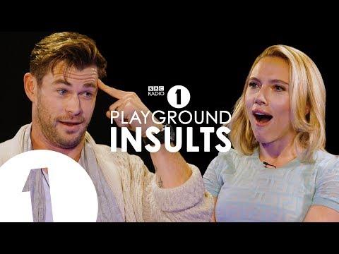 Hřiště urážek s Chrisem Hemsworthem a Scarlett Johansson