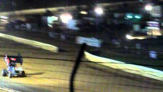 Selinsgrove 9/3/11 358 sprint car national open part #2/Finish