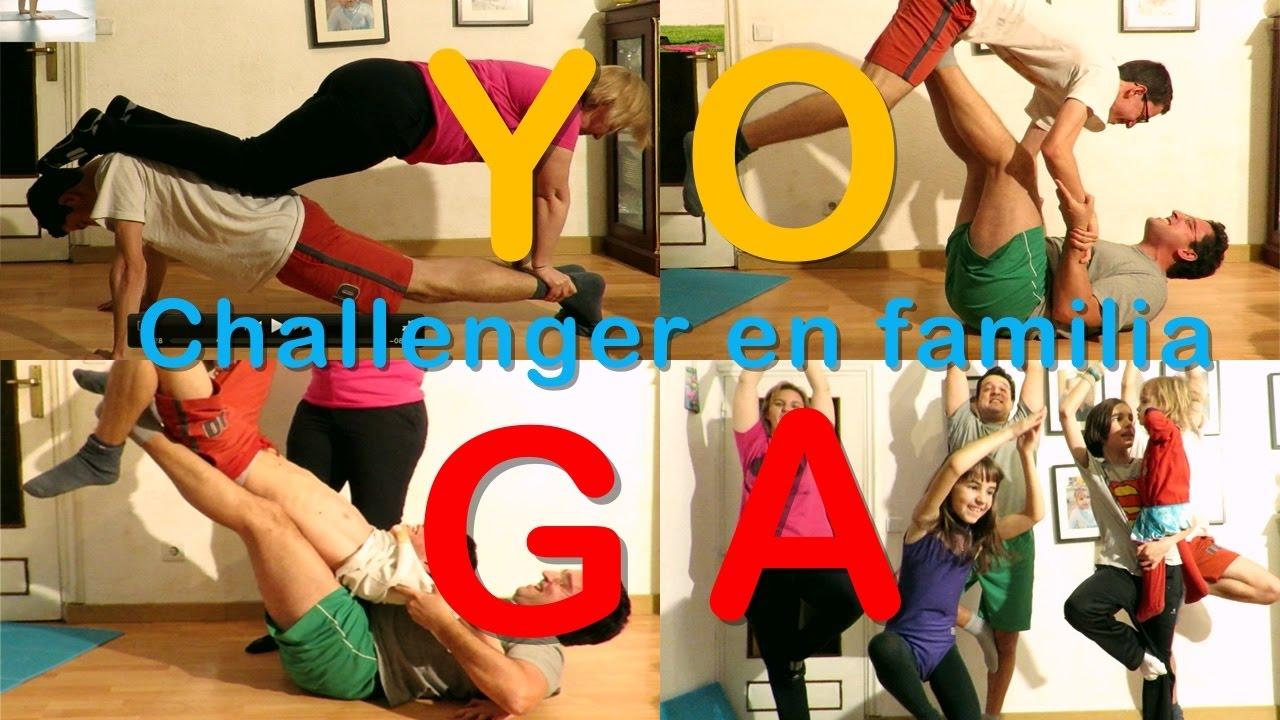 Yoga Challenger en familia