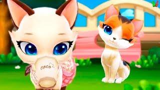 Мой Пушистик #8 Любовь Котенка Учимся ухаживать Развивающее видео для Детей Забота о Животных