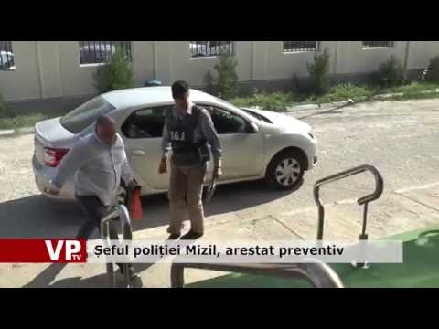 Șeful poliției Mizil, arestat preventiv