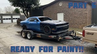 Rebuilding a Wrecked 2016 Dodge Hellcat Part 6