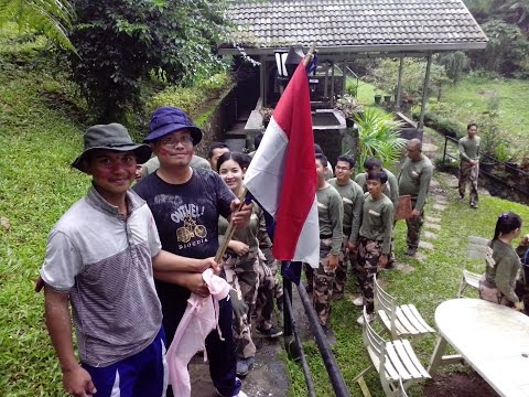 TRAINING CLEANING SERVICE OUTBOUND NO.1- INDONESIA