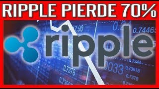 Ripple Pierde  70% #Bitcoin #Ethereum #Ripple #Cardano #Litecoin