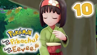 How To Beat Gym Leader Erika | Pokémon Let's Go Pikachu! & Let's Go Eevee! Walkthrough - Part 10