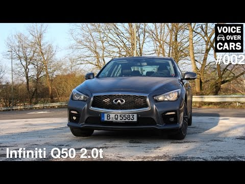 2014 Infiniti Q50 2.0t Beschleunigung - 0-100 - Soundcheck - Voice over Cars - Folge #002