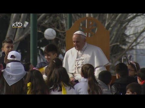 Rencontre avec la population - Visite du Pape à Naples