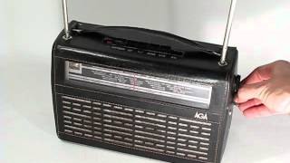 AGA 3516 transistor radio