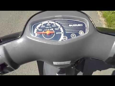 Suzuki Lets 4 scooter