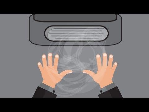 Keimschleuder Händetrockner: Von wegen hygienisch!