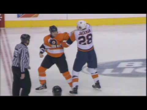 Tim Jackman vs Arron Asham
