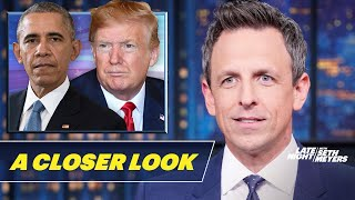 Seth takes a closer look at President Trump bringing us to the brink of a disastrous war with Iran and then claiming credit for stopping it today.  Subscribe to Late Night: http://bit.ly/LateNightSeth   Watch Late Night with Seth Meyers Weeknights 12:35/11:35c on NBC.   Get more Late Night with Seth Meyers: http://www.nbc.com/late-night-with-seth-meyers/   LATE NIGHT ON SOCIAL Follow Late Night on Twitter: https://twitter.com/LateNightSeth Like Late Night on Facebook: https://www.facebook.com/LateNightSeth Follow Late Night Instagram: http://instagram.com/LateNightSeth Late Night on Tumblr: http://latenightseth.tumblr.com/   Late Night with Seth Meyers on YouTube features A-list celebrity guests, memorable comedy, and topical monologue jokes.   GET MORE NBC Like NBC: http://Facebook.com/NBC Follow NBC: http://Twitter.com/NBC NBC Tumblr: http://NBCtv.tumblr.com/ YouTube: http://www.youtube.com/nbc NBC Instagram: http://instagram.com/nbctv   Trump Lies About Iran Crisis, Blames Obama: A Closer Look- Late Night with Seth Meyers https://youtu.be/3jKdvMISFrE   Late Night with Seth Meyers http://www.youtube.com/user/latenightseth