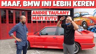 Saya ajak Anda ke garasi om Andre Taulany, sambil membawa BMW M3 Sport Evolution dan dibandingkan dengan BMW 325is milik beliau.