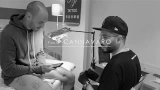 Paolo Cannavaro - Una sessione privata per il nuovo tatuaggio.