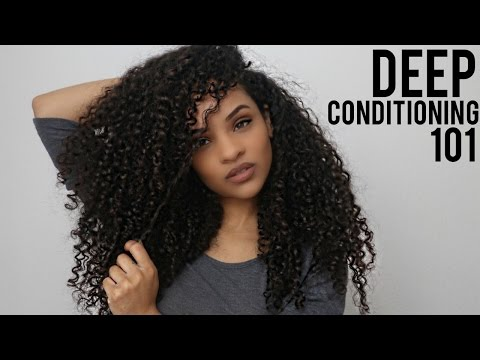 Deep Conditioning 101 For Natural Hair