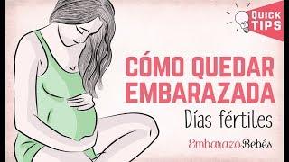 ¿Cómo Quedar #embarazada RÁPIDO? - Días Fértiles De La Mujer ✅