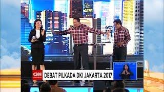 FULL Debat Cagub DKI 2017 Kedua  AHY  Sylvi Ahok  Djarot Anies  Sandi