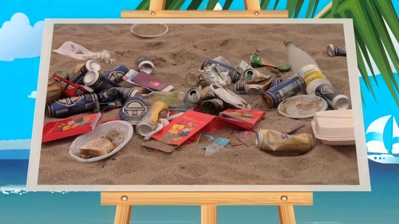 Limpieza en la playa