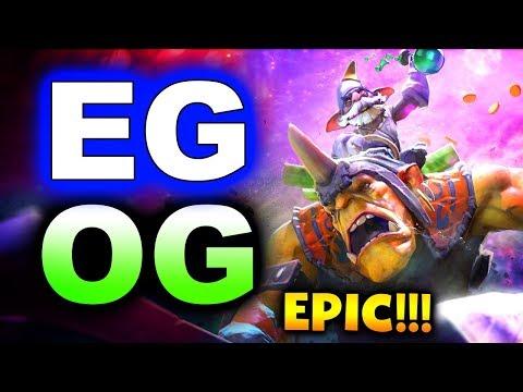 EG vs OG - EPIC ELIMINATION! - EPICENTER MAJOR 2019 DOTA 2