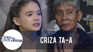 TWBA: Criza Ta-a turns emotional while talking about her Lola