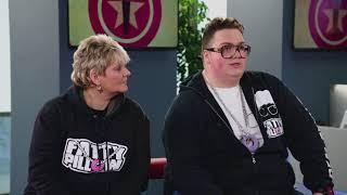Fatty s Mámou v talk show. Celá reportáž