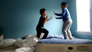 Our first fist fight