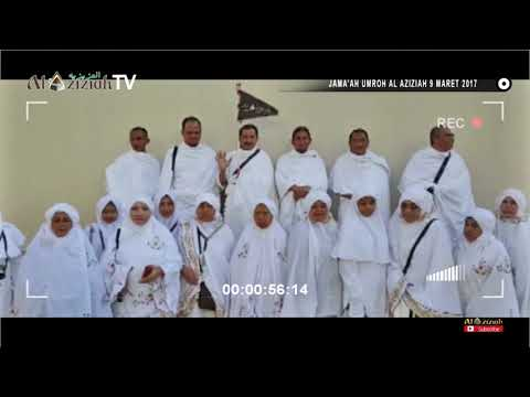 Jama'ah Umroh AL AZIZIAH madinah to makkah 9 Maret 2017