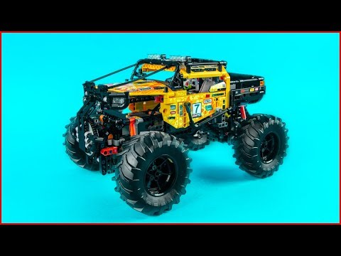 LEGO TECHNIC 42099 4x4 X-Treme Off-Roader - UNBOXING Speed Build