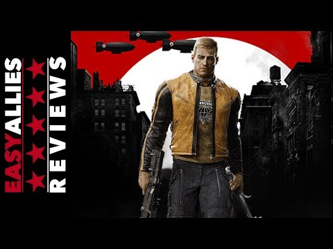 Wolfenstein II: The New Colossus - Easy Allies Review - YouTube video thumbnail