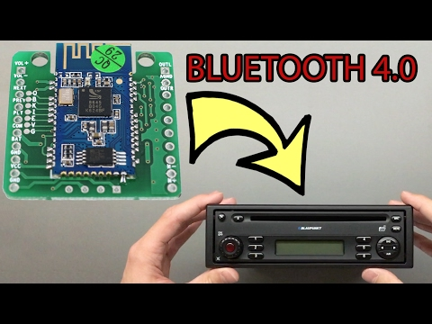 How to Add Bluetooth 4.0 to Any Car Stereo for 12$ ! Complete Guide !