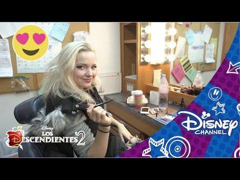 Los Descendientes 2: Un día de rodaje con Dove Cameron | Disney Channel Oficial