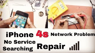 IPhone 4s Network Problem No Service Searching Problem Solution Hindi By Ajay Dhawan