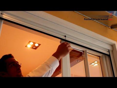 Insektenschutz für Fenster + Türen - Produktvideo - fensterversand.com TV