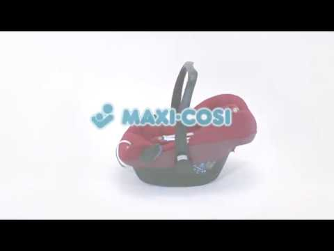 Maxi-Cosi Pebble - Jak założyć pokrowiec letni?