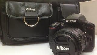 Nikon D3300 With AF-S 18-55mm VRII Kit Lens Unboxing