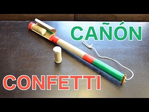 Cómo Construir Un Cañón De Confetti Con Cartuchos Recargables