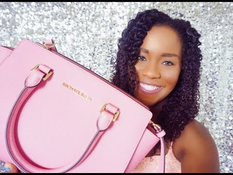 Michael Kors Medium Selma Satchel Misty Rose || Review