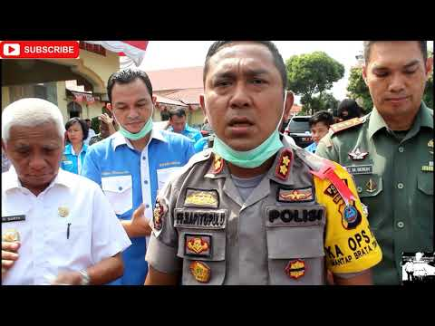 Plt. Bupati Asahan Apresiasi Polres Asahan Dalam Menindaki Kasus Narkoba