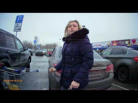СтопХам На парковке «Ленты» водителей оштрафовали за стоянку на местах для инвалидов