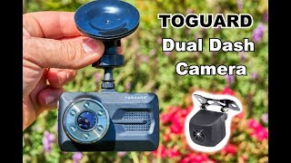 🚗 REVIEW: TOGUARD Dual Dash Camera.  Installation How To Walk-Through And Testing