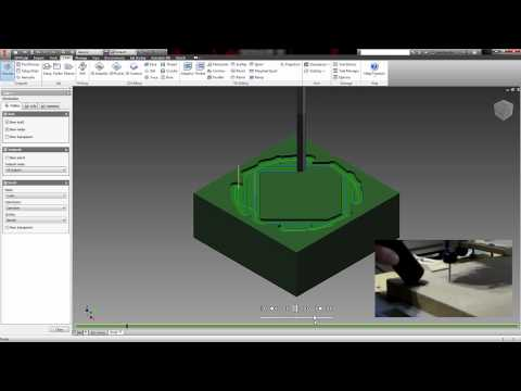 Basic Tutorial: 2 5D CAM in Inventor/Fusion 360 - Marksman