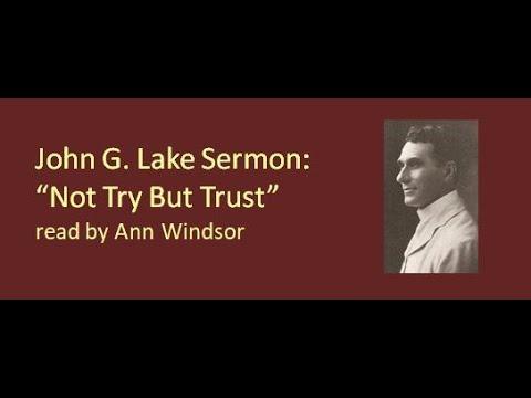 John G  Lake sermon: