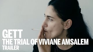 GETT, THE TRIAL OF VIVIANE AMSALEM Trailer | Festival 2014