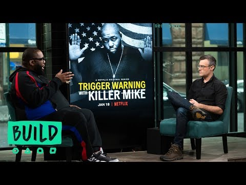 "Killer Mike Discusses His New Netflix Series, ""Trigger Warning with Killer Mike"""