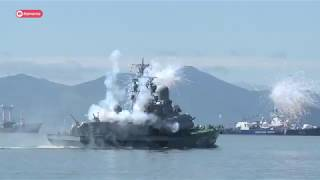 На Камчатке отпраздновали день ВМФ