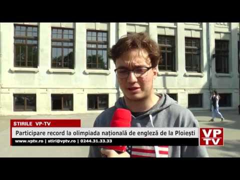 Participare record la olimpiada națională de engleză de la Ploiești