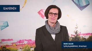 Varhainen välittäminen, Mari Salmi, työkykypäälikkö, Ilmarinen