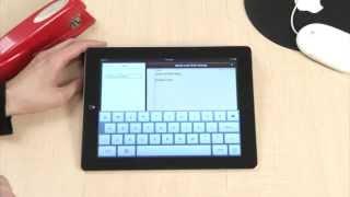 iPad Navigation Basics training video