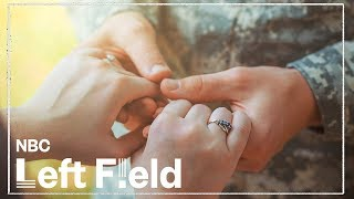 How Military Personnel Are Married Without Being In The Same Room | NBC Left Field