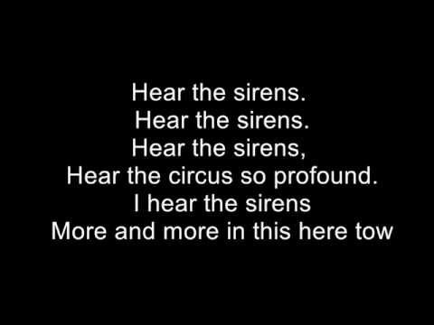 Pearl Jam - Sirens (Lyric Video) LYRICS ARE WRONG SEE DESCRIPTION AND TOP PINNED COMMENT FOR DETAILS